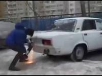 Nowy sposób na kierowców którzy nie potrafią parkować