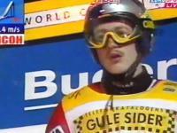Adam Małysz Trondheim 2001 138m i sławna reakcja Tajnera