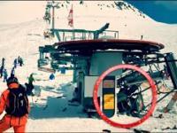 MEGA awaria wyciągu narciarskiego w Gruzji