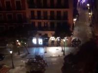 Właśnie trwają zamieszki w Madrycie Senegalczycy ścierają się z Policją