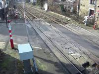 Otarł się o śmierć na przejeździe kolejowym w Belgii