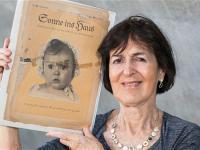 Joseph Goebbels jako wzór aryjskiego dziecka wybrał sześciomiesięczną Żydówkę
