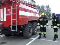 Zawody strażaków w Rosji