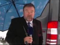 Pech korespondenta czeskiej telewizji ČT w Polsce