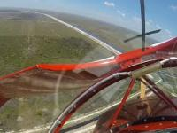 Awaria silnika samolotu w powietrzu