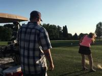 Gra w golfa jest taka relaksująca