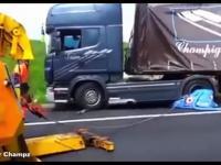 Stawianie na koła ciągników z naczepami: Niemcy vs Brazylia