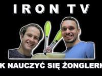 Jak nauczyć się żonglerki piłeczkami Krzysztof Riewold IRON TV