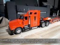 Zdalnie sterowana ciężarówka z LEGO budowana 3 lata