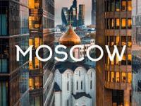 Moskwa z drona