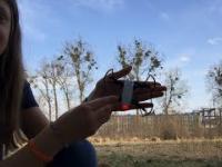 NAJMNIEJSZY DRON NA ŚWIECIE Z KAMERKĄ