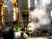 Niezwykle dziwna msza w katedrze w Santiago de Compostela