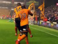 Piękne trafienie Rubena Nevesa w meczu angielskiej Championship