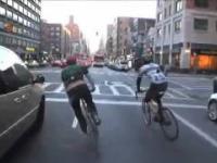 Kurierzy rowerowi w Nowym Jorku