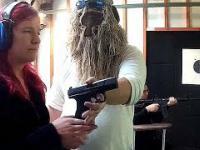 Zaprosiłem niewidome osoby na strzelanie
