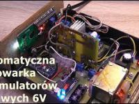 Brzydal. Ładowarka akumulatorów żelowych 6V.