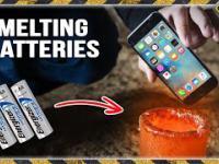 Baterie vs stopione aluminium
