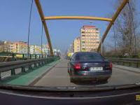 Gdyńska złotówa blokuje lewy pas - szeryf drogowy