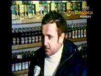 PRL 1981 Wódka na kartki. Małpka i do pracy