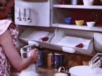 Ergonomiczna kuchnia z 1949 roku