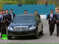 Ochroniarze Kim Dzong Una pokazali formę