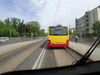 Warszawa Timelapse autobus 527