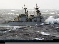 Okręty w ekstremalnych warunkach na morzu