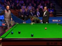 No Look Snooker Shot