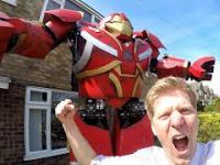 Hulkbuster zbudowany w garażu || Colin Furze