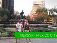 Meksyk - Polacy w Mexico City. cz. 4 miasto z góry i nocą.
