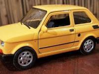 Fiat 126 p - model produkcji Welly