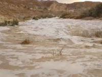 Powódź błyskawiczna na pustyni Negew