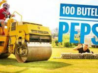 100 butelek Pepsi przejechane przez WALEC
