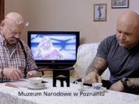Pomysłowa reklama muzeum w Poznaniu