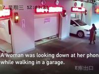 Jak nie odbierać samochodu z automatycznego parkingu.