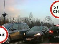 Zajeżdżanie pasa, czyli niebezpieczne i chamskie sytuacje na drogach