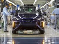 Toyota Mirai produkowana w Japonii