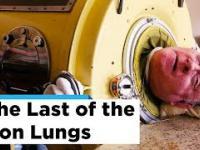 Jedna z ostatnich ofiar polio żyjących w żelaznym płucu