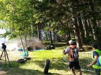 Wypadek w Karpaczu podczas zawodów driftingowych