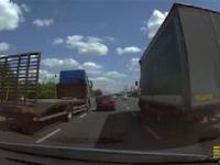 Martwe pole w ciężarówce w praktyce.