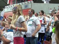 Tak się kibicuje!Eksplozja radości po meczu Anwil-Stelmet i awansie do półfinału
