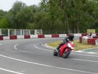 Trening przed zawodami, motocykle na bydgoskim torze kartingowym