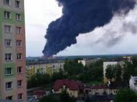 50 tys. ton śmieci płonie w Zgierzu