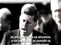 Pamiętne przemówienie - John Fitzgerald Kennedy