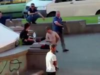 Lokalny kibic z Kijowa dostał to czego chciał