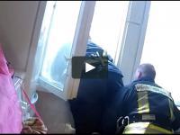 Akcja strażaków z Łotwy