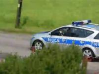Pościg policyjny ze strzałami za ciężarówką z mordercą w Małszycach k/Łowicza