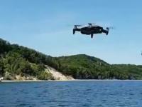 Dron za 4.5k w rękach nieogarniętego pilota na urlopie