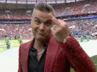 Robbie Williams na otwarciu mundialu w Rosji 2018