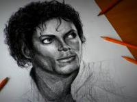 Michael Jackson Speed Drawing